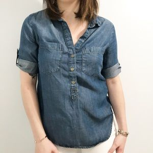 • Anthropologie • Chambray Top